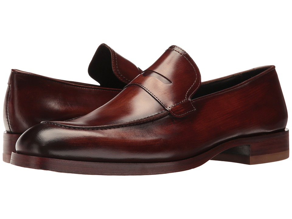 Donald J Pliner - Zylon (Brown) Men's Shoes
