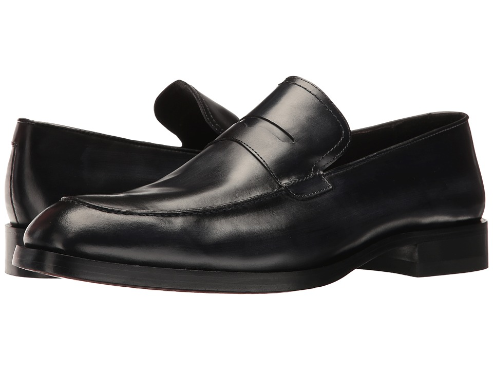 Donald J Pliner - Zylon (Midnight) Men's Shoes