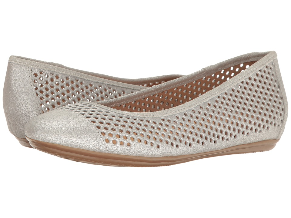 Naturalizer - Becca (Soft Silver Metallic Suede) Women's Maryjane Shoes