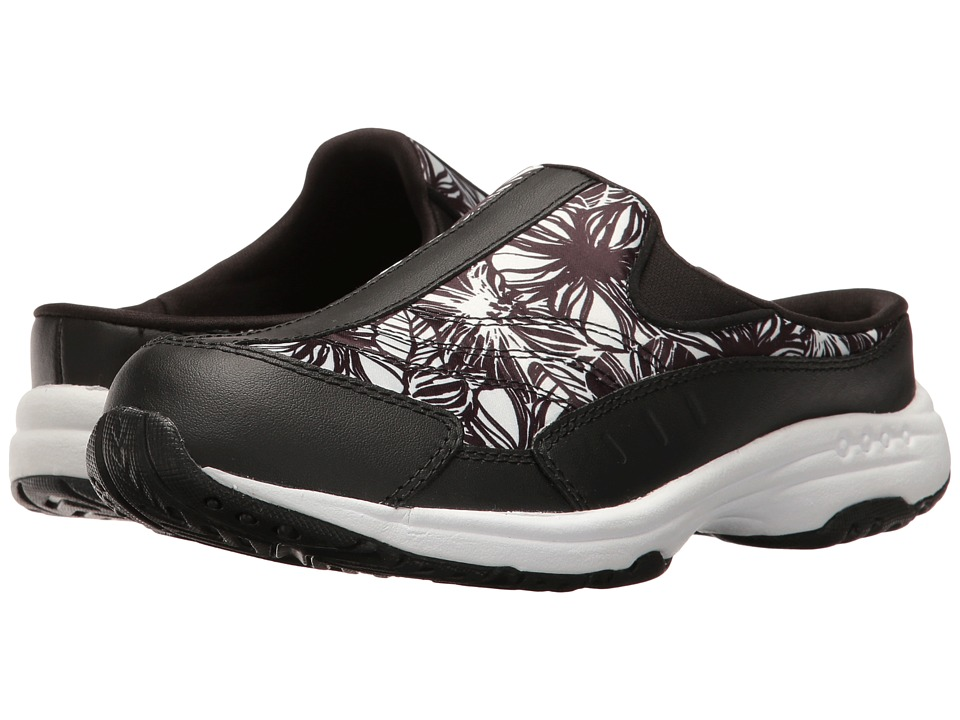 Easy Spirit - Traveltime 248 (Black/Black Multi Leather) Women's Shoes