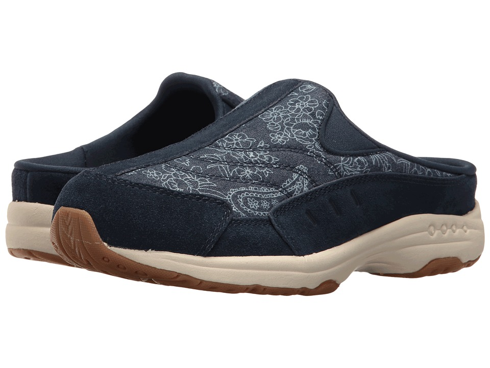 Easy Spirit - Traveltime 267 (Navy/Blue Suede) Women's Shoes