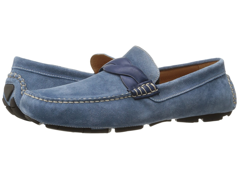 Donald J Pliner - Hansen (Blue) Men's Shoes