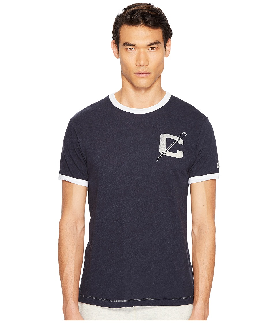 Todd Snyder + Champion - Ringer Tee (Navy) Men's T Shirt