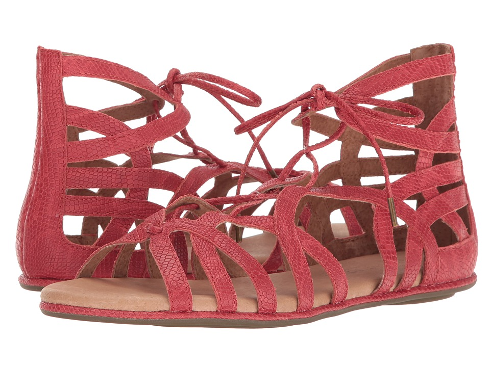 Gentle Souls - Break My Heart 3 (Red) Women's Sandals