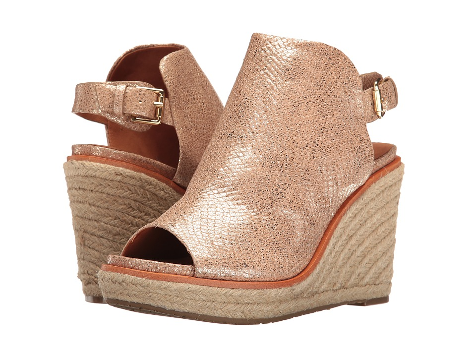 Gentle Souls - Jacey (Gold) Women's Shoes