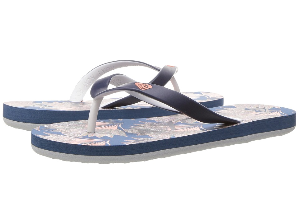 Roxy Kids - Tahiti V (Little Kid/Big Kid) (Royal Blue) Girls Shoes