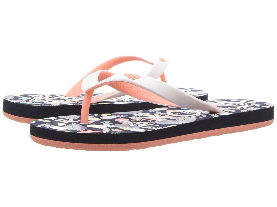 Roxy Kids - Tahiti V (Little Kid/Big Kid) (White Hacienda) Girls Shoes