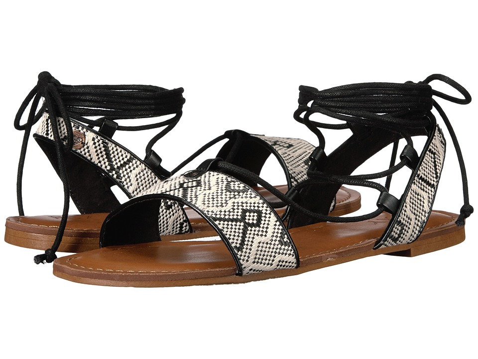 Roxy - Nadine (Black/White) Women's Shoes