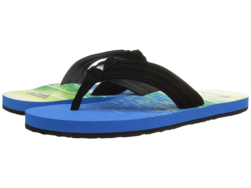 Quiksilver - Basis (Black/Blue/Green) Men's Sandals