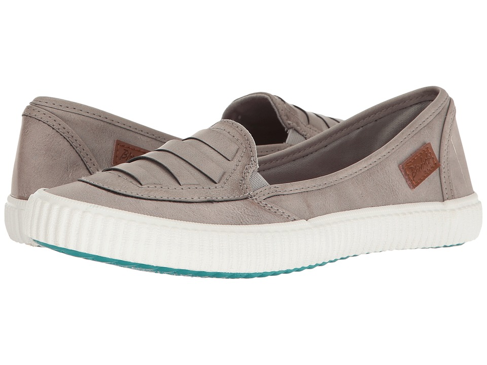Blowfish - Spain (Grey Jeremy PU) Women's Slip on Shoes