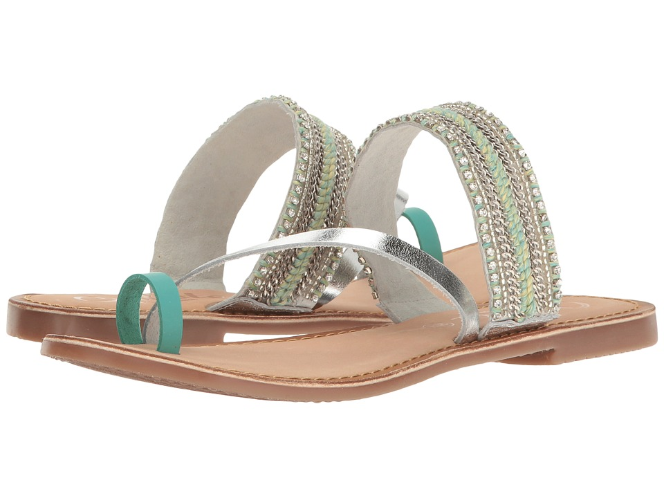 Callisto of California - Karii (Turquoise) Women's Shoes