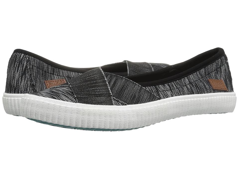 Blowfish - Spacey (Black Horizon Lycra) Women's Slip on Shoes