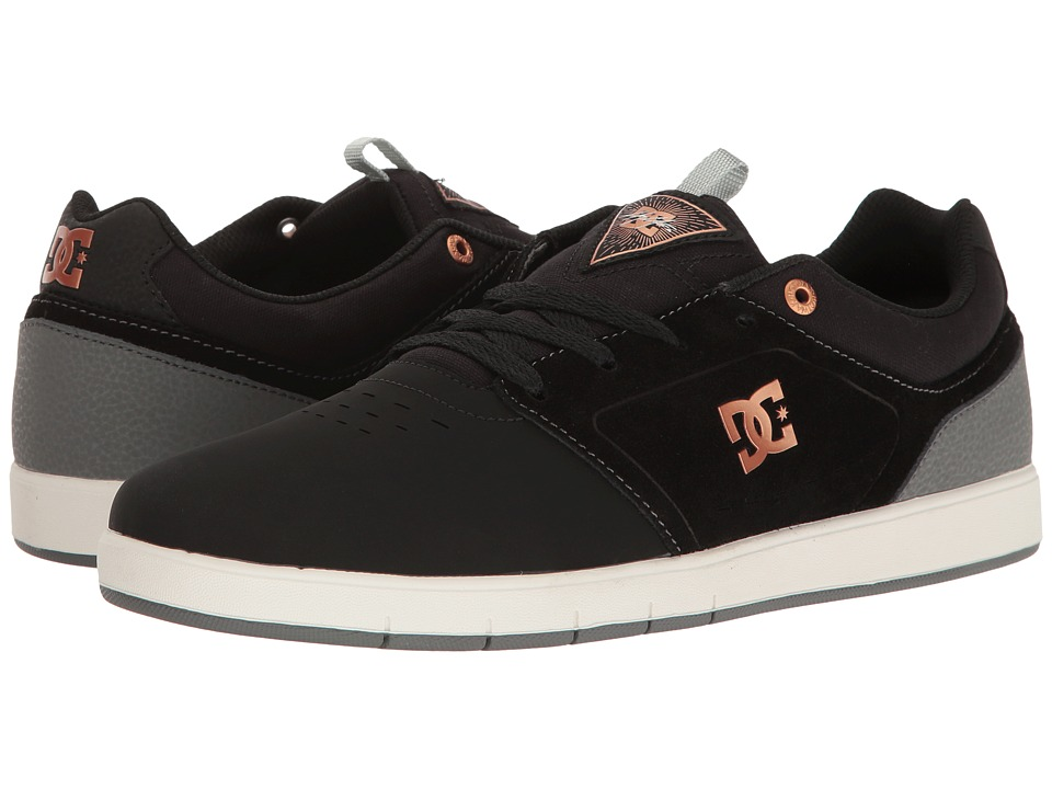DC - Cole Signature (Grey/Black/Grey) Men's Skate Shoes