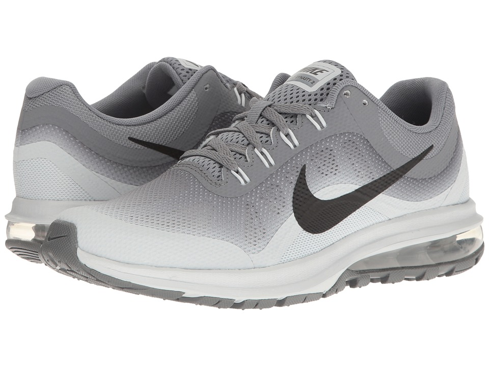 Nike Kids - Air Max Dynasty 2 (Big Kid) (Cool Grey/Black/Pure Platinum) Boys Shoes