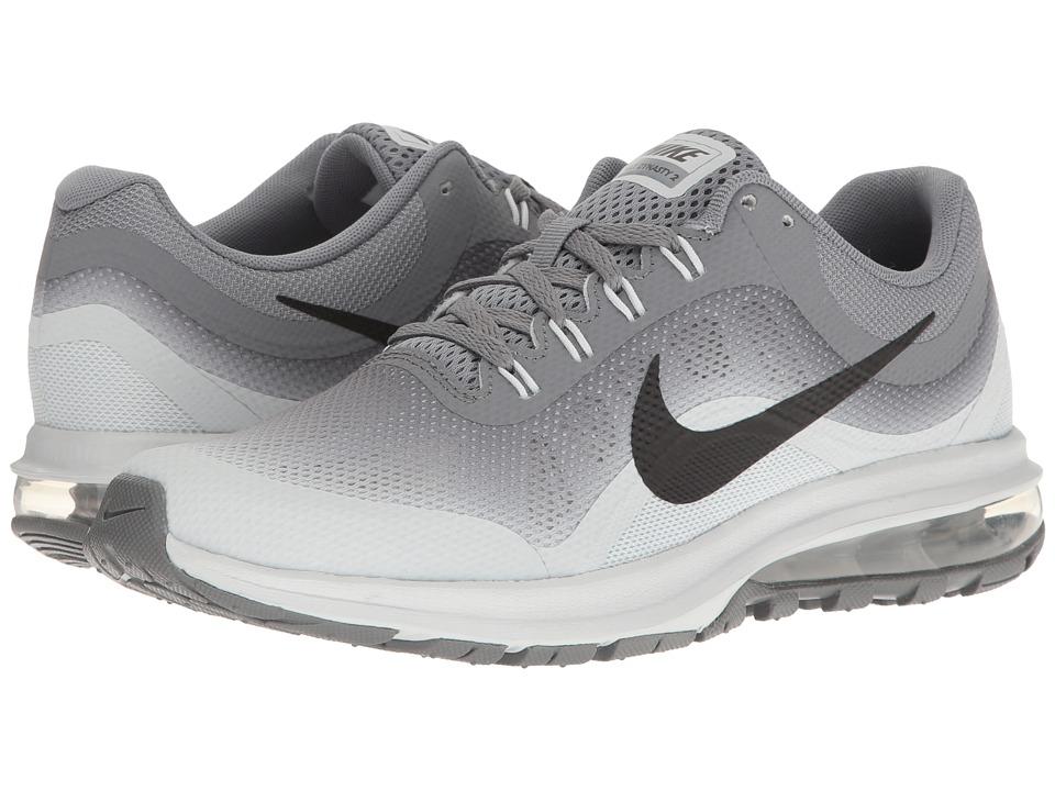 Nike Kids - Air Max Dynasty 2 (Big Kid) (Cool Grey/Black/Pure Platinum) Boys Shoes