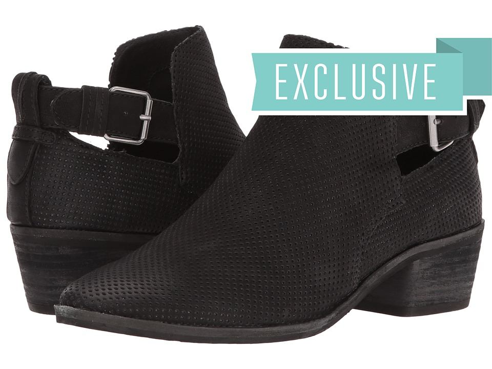 Dolce Vita - Kara (Black Nubuck) Women's Shoes