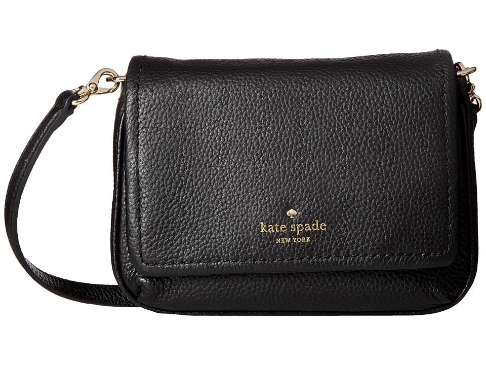 Kate Spade New York - Cobble Hill Abela (Black) Handbags