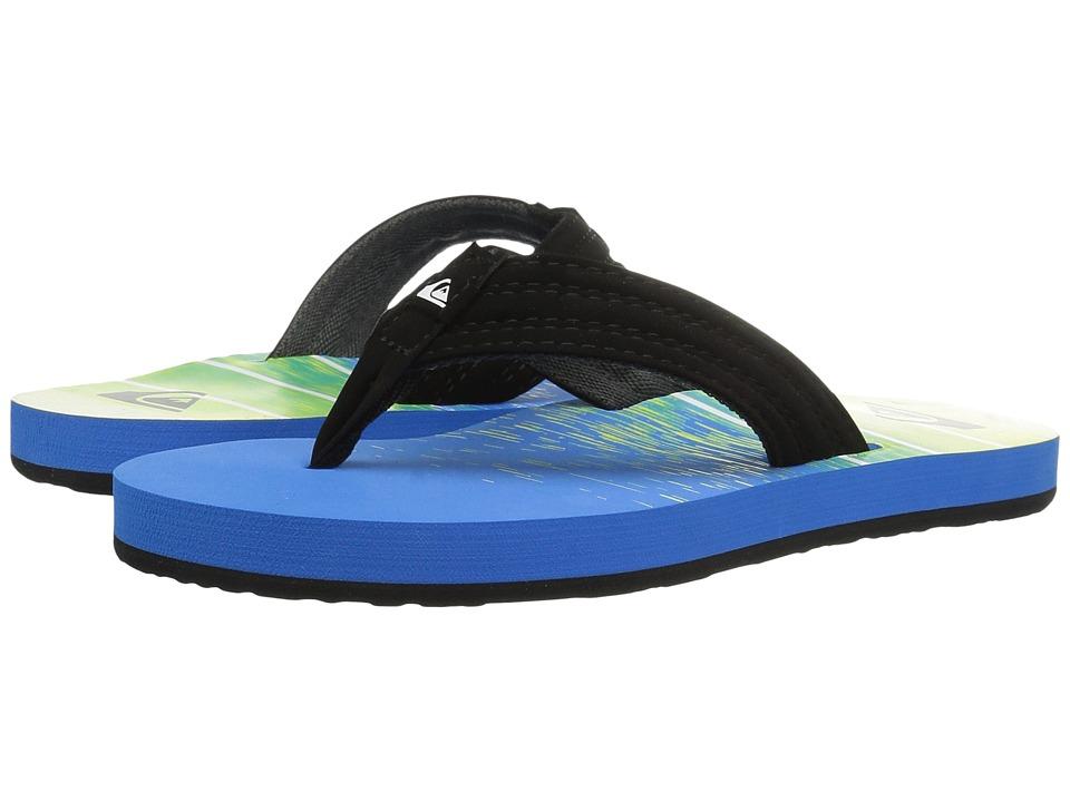 Quiksilver Kids - Basis (Toddler/Little Kid/Big Kid) (Black/Blue/Green) Boys Shoes