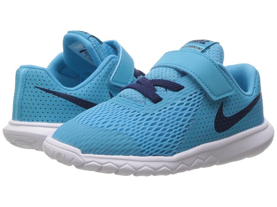 Nike Kids - Flex Experience 5 (Infant/Toddler) (Chlorine Blue/Binary Blue/Polarized Blue) Boys Shoes