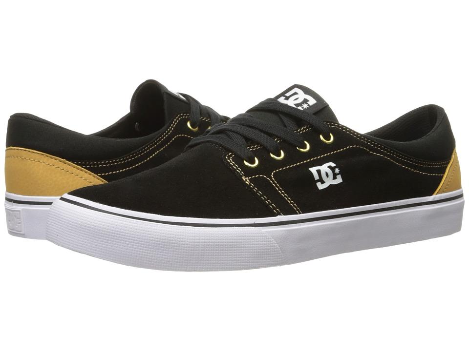 DC - Trase SD (Black/Camel) Skate Shoes