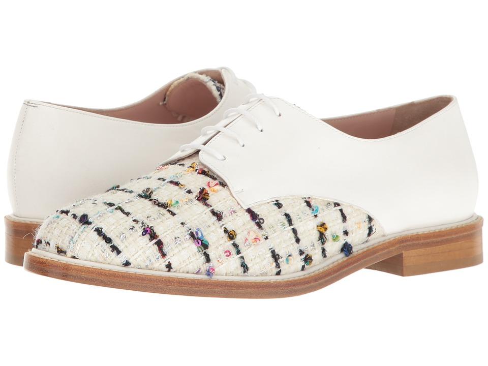 Oscar de la Renta - Tilda (White Tweed) Women's Shoes