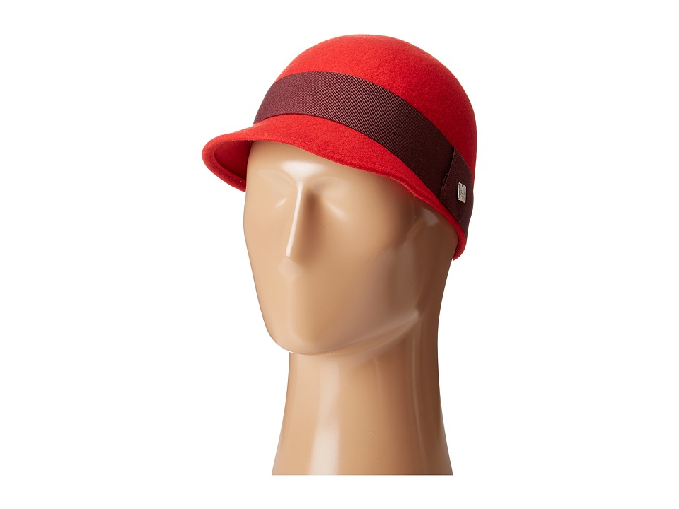 Manila Grace - Front Brim Hat (Red) Caps