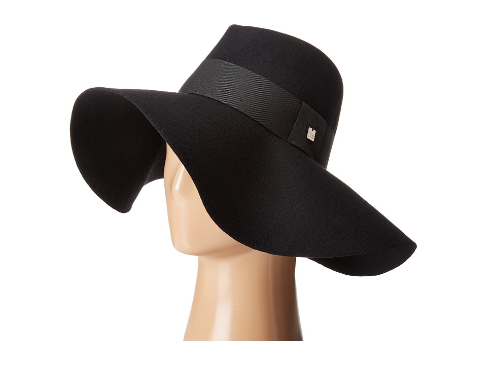 Manila Grace - Floppy Hat (Black) Caps