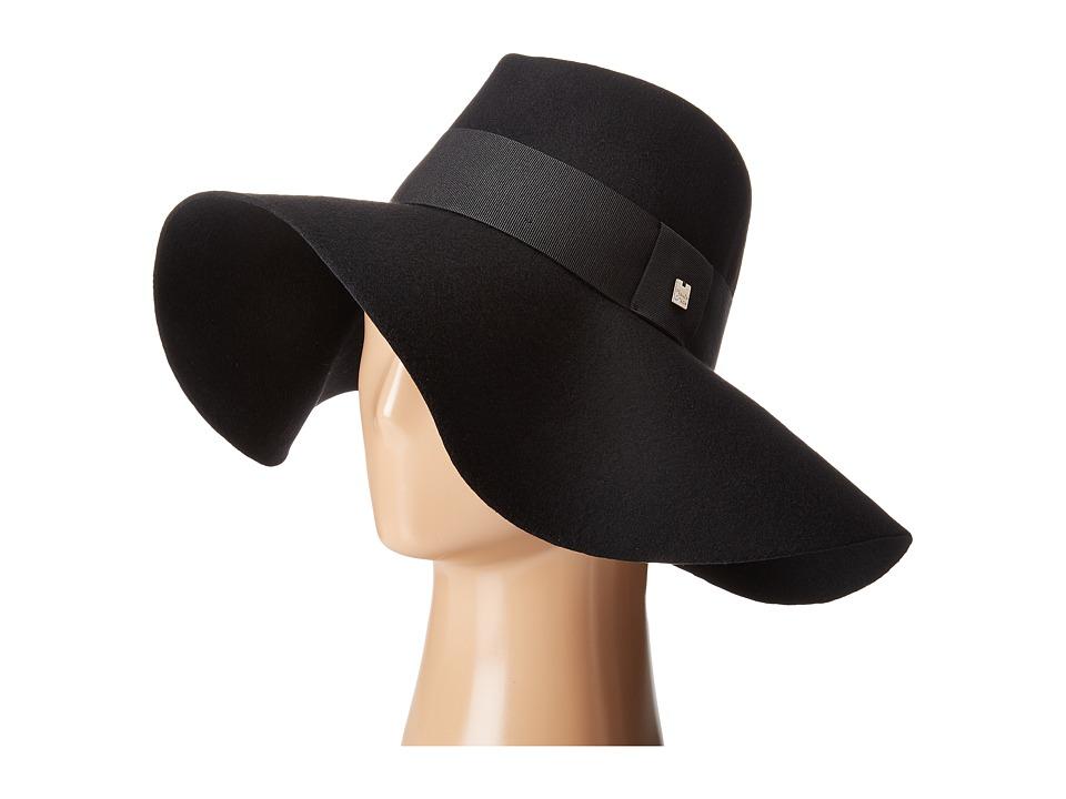 Manila Grace - Floppy Hat (Black) Caps