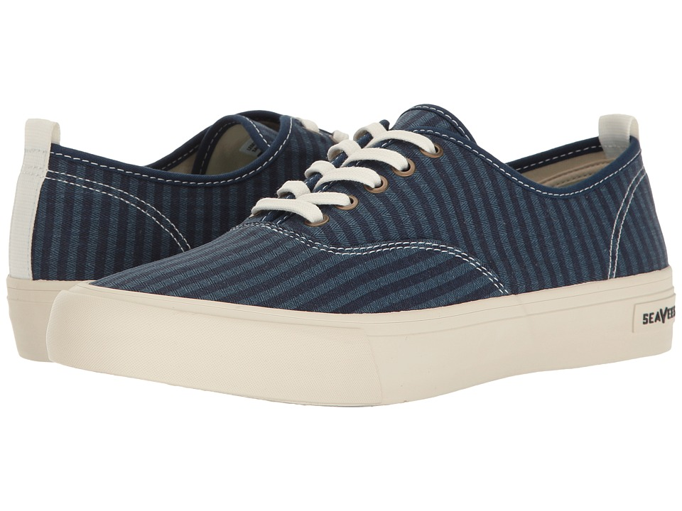 SeaVees - 06/64 Legend Sneaker Saltwash (Dark Navy) Men's Shoes