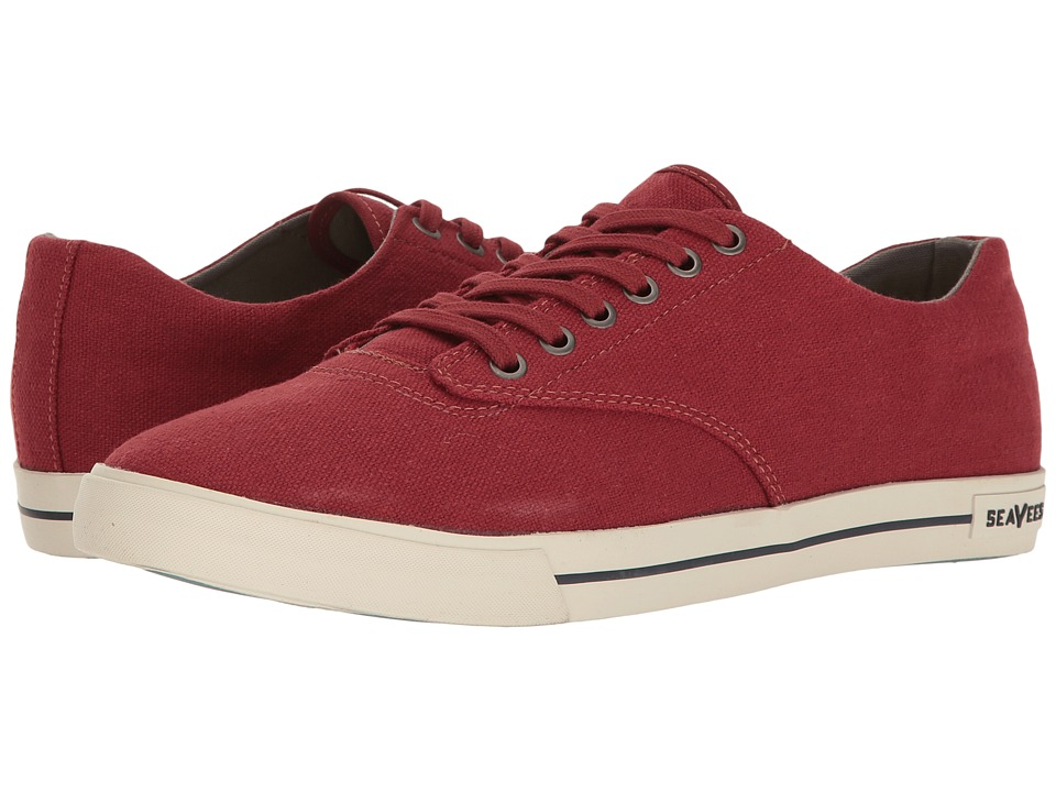 SeaVees - 08/63 Hermosa Plimsoll Standard (Fire Brick) Men's Shoes