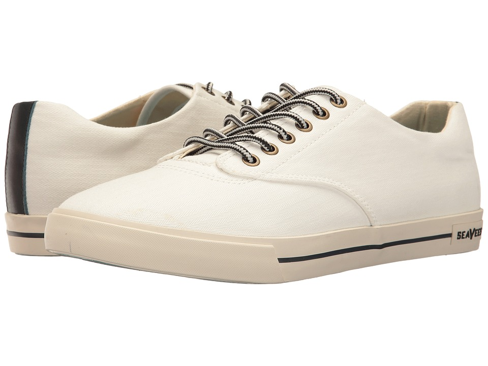 SeaVees - 08/63 Hermosa Plimsoll Regatta (Bleach) Men's Shoes