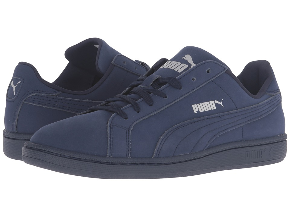 PUMA - Smash Buck Mono (Peacoat/Peacoat) Men's Classic Shoes