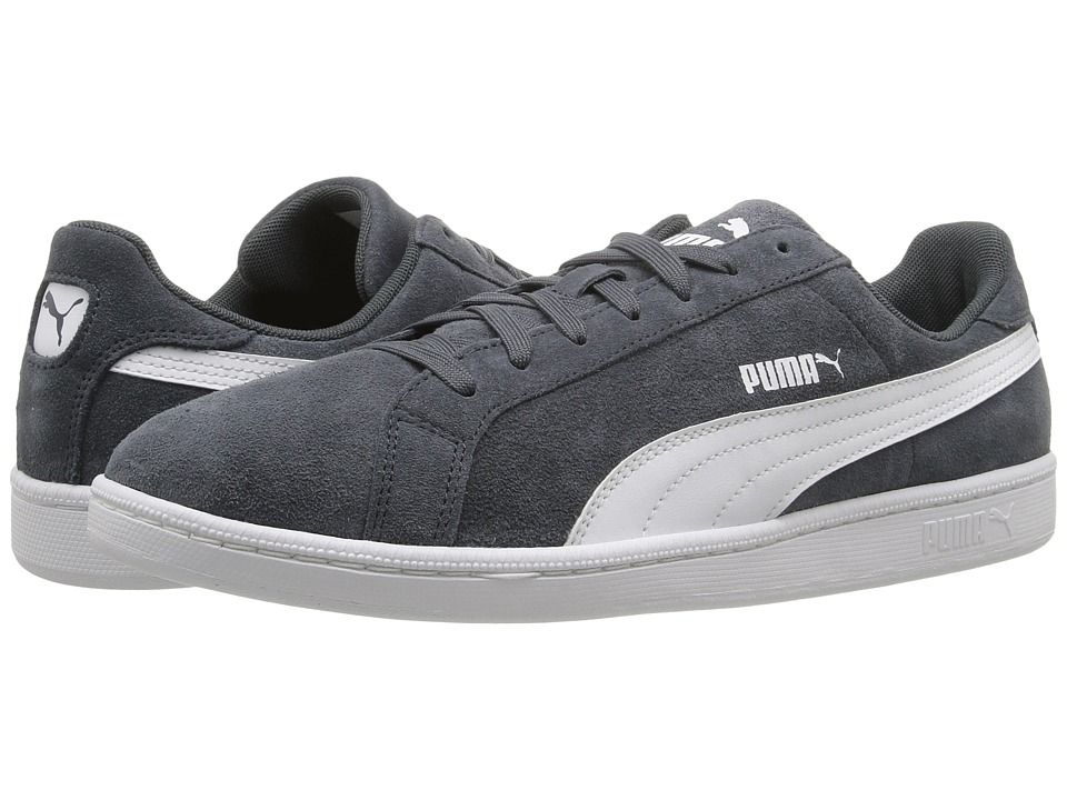 PUMA - Smash Suede Leather (New Navy/White) Men's Shoes