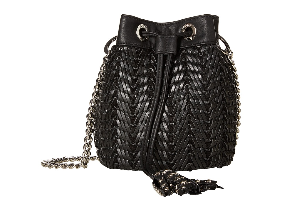 Circus by Sam Edelman - Maxima Bucket Bag (Black) Cross Body Handbags