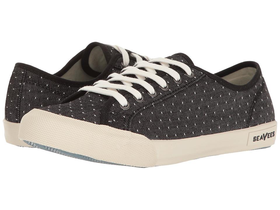 SeaVees - 06/67 Monterey Sneaker Oasis (Black) Women's Shoes