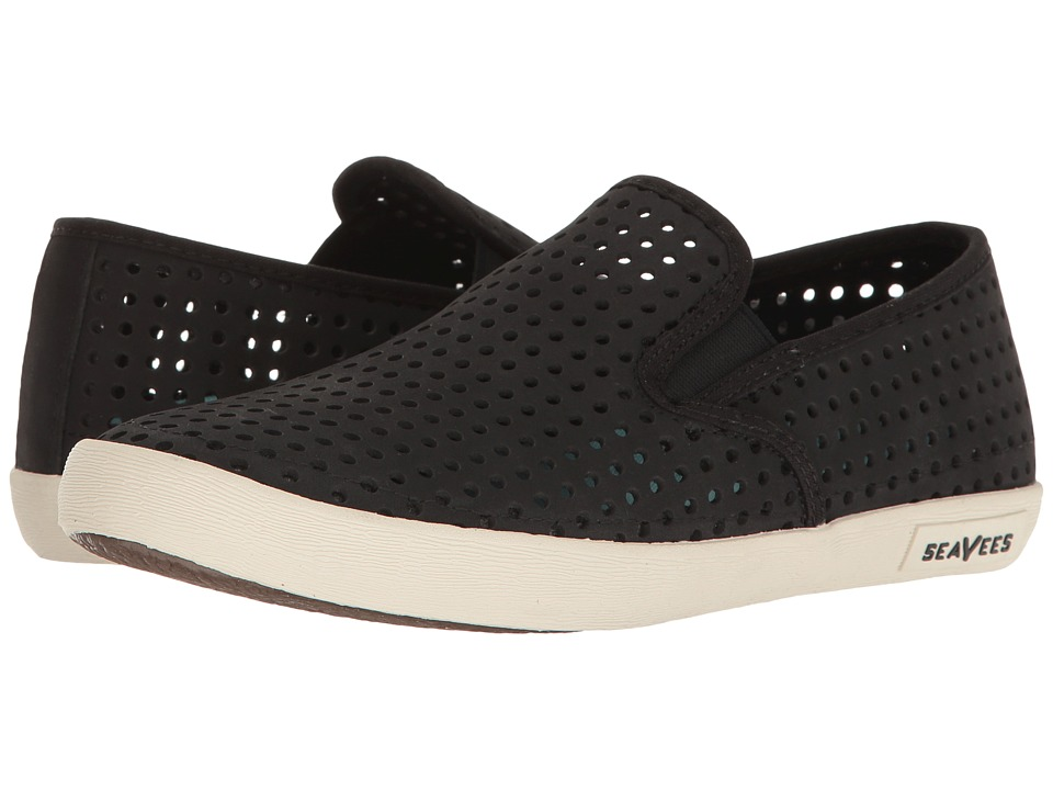 SeaVees - 02/64 Baja Slip-On Portal (Black) Women's Slip on Shoes