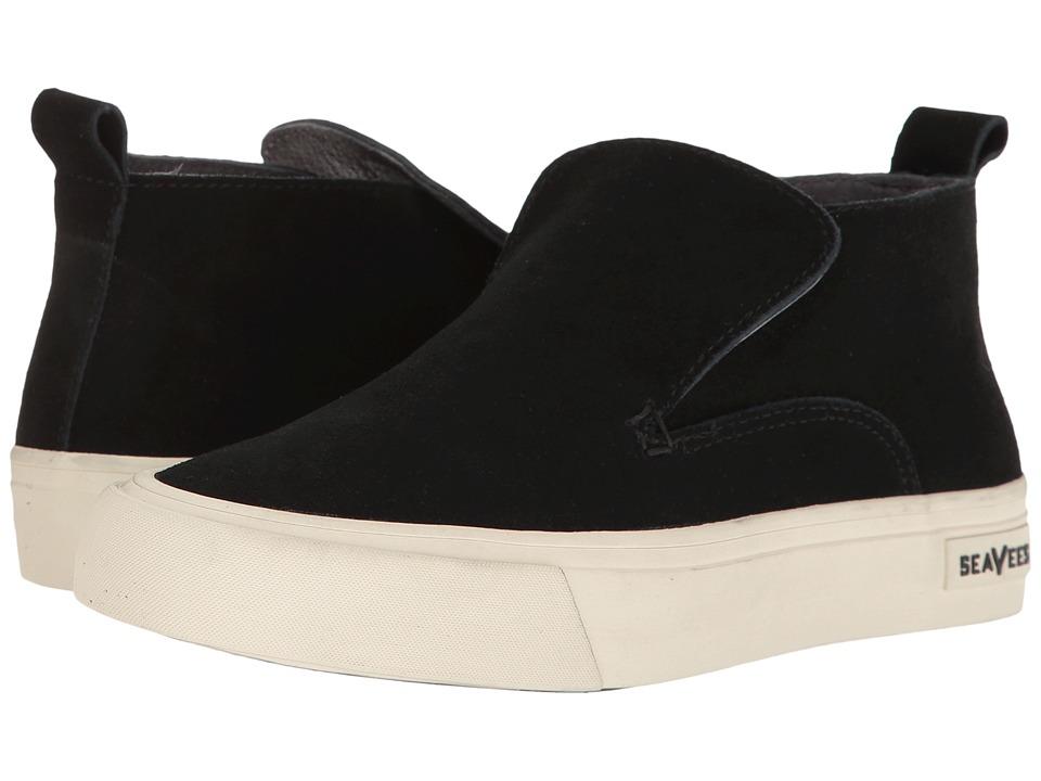 SeaVees - 12/64 Huntington Middie (Black) Women's Shoes