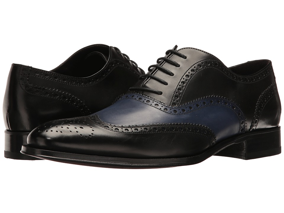 To Boot New York - Buster (Black/Blue) Men's Shoes