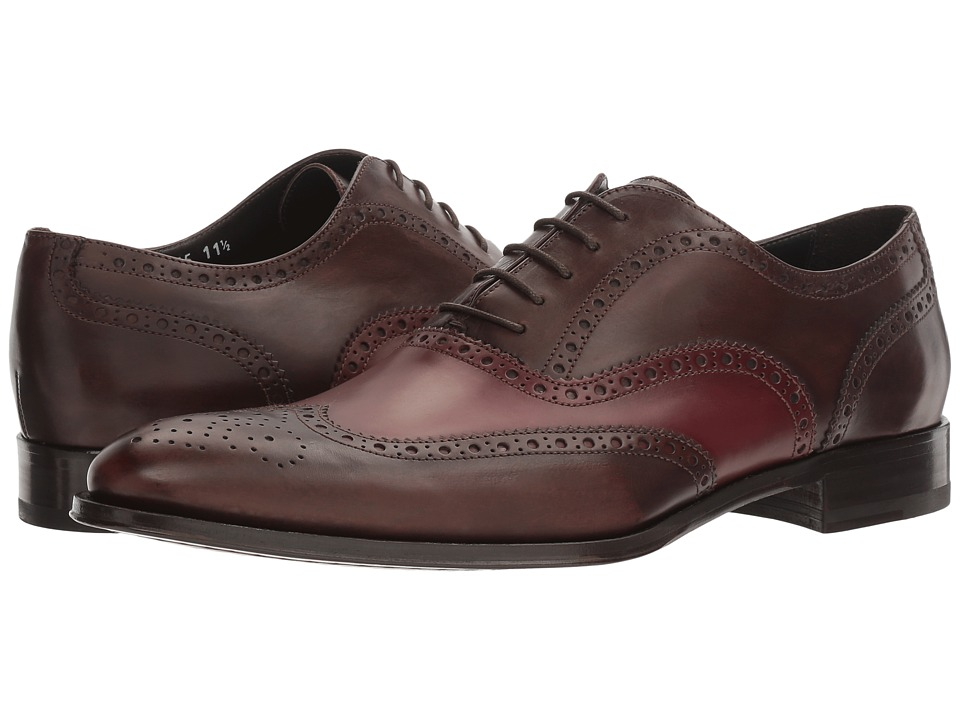 To Boot New York - Buster (Brown/Bordo) Men's Shoes
