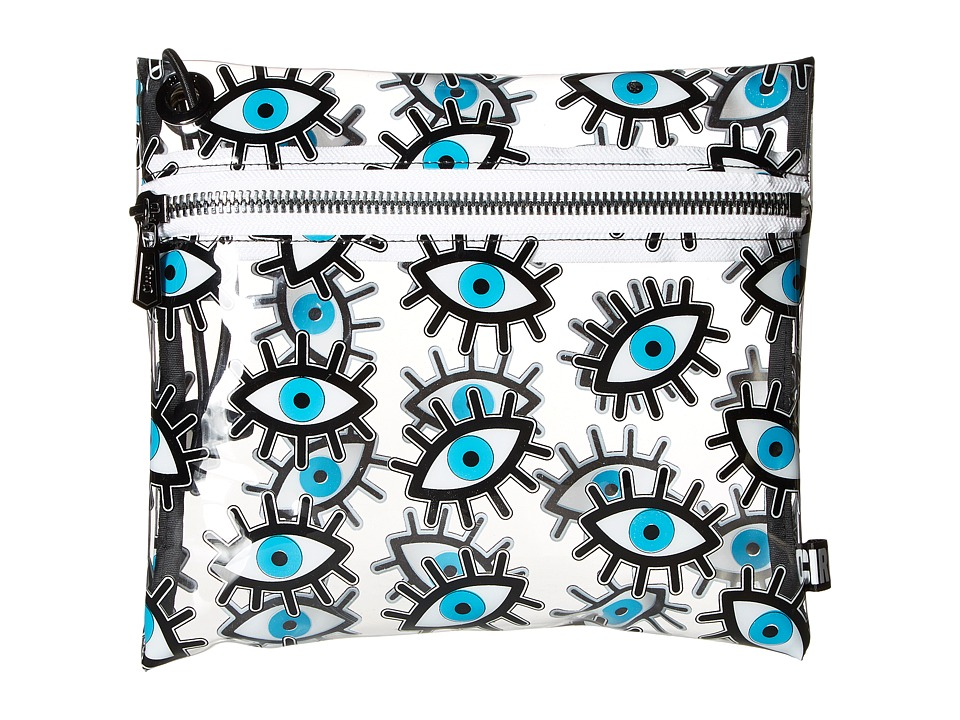 Circus by Sam Edelman - Miles Clear Bag (Eye Print/Clear) Clutch Handbags