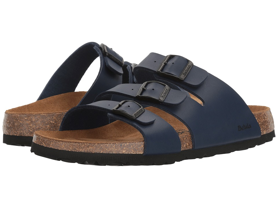 Betula Licensed by Birkenstock Leo Birko-Flor (Basic Navy) Women