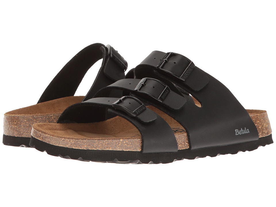 Betula Licensed by Birkenstock - Leo Birko-Flor (Basic Black) Women's Shoes