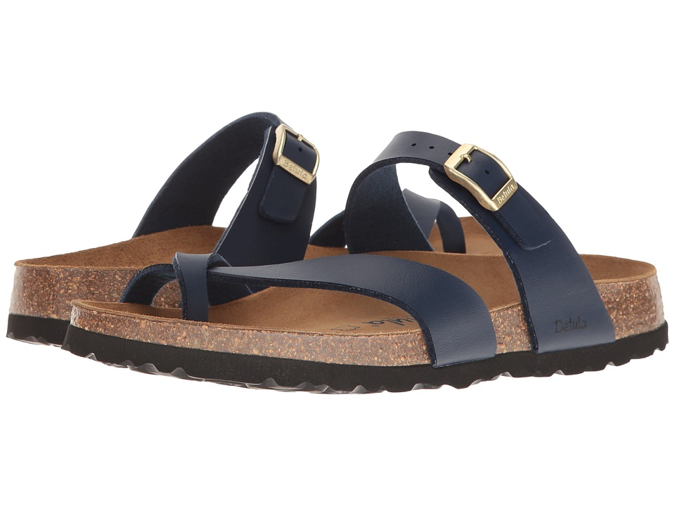 Betula Licensed by Birkenstock Mia Birko-Flortm (Basic Navy) Women