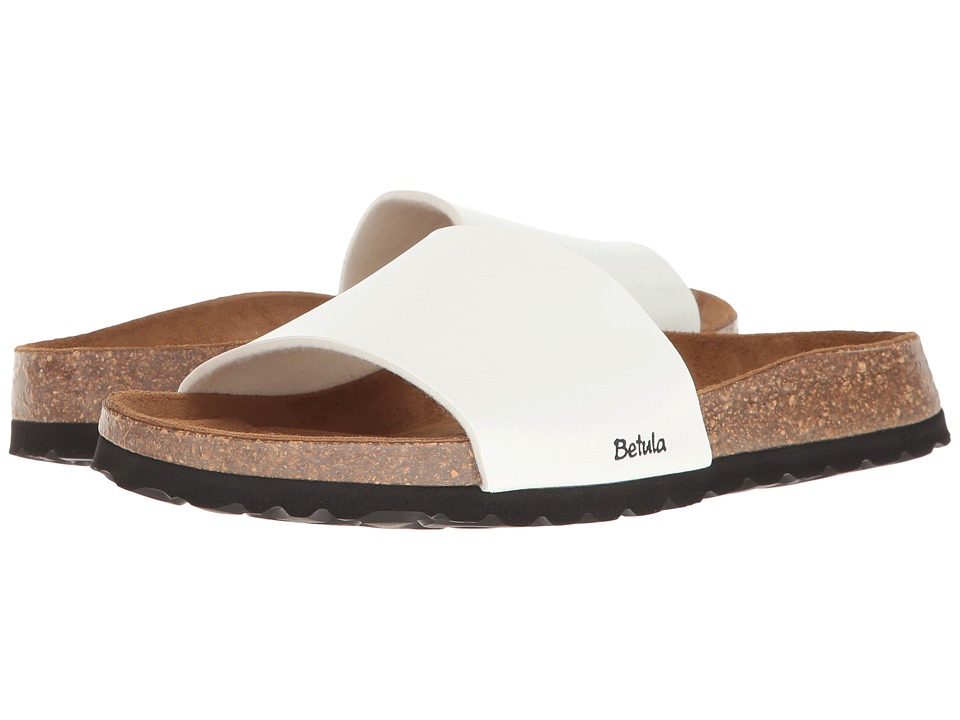 Betula Licensed by Birkenstock Reggae Birko-Flor (Basic White) Women