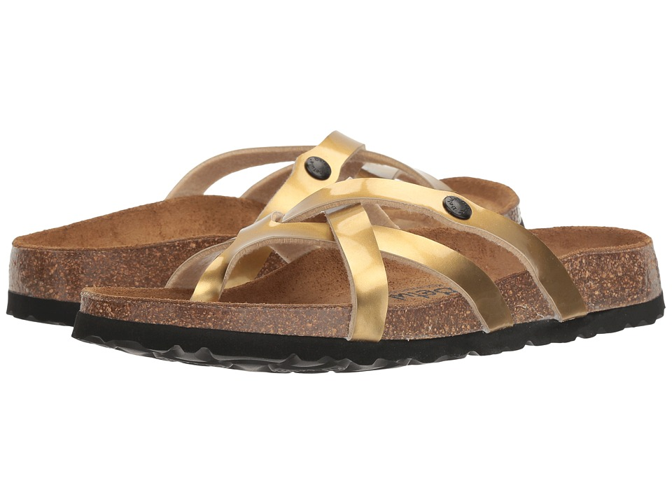 Betula Licensed by Birkenstock Vinja (Metal Gold) Women