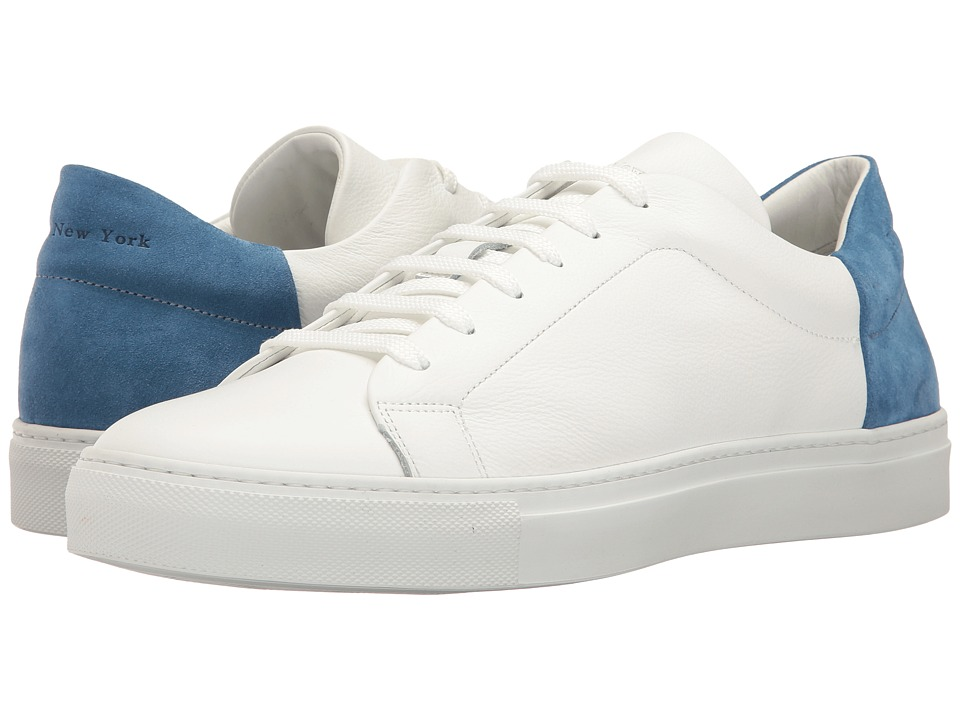 To Boot New York - Huston (White/Blue) Men's Shoes