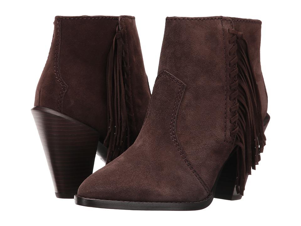 COACH - Westyn (Chestnut/Chestnut Fringe Suede/Luxe Suede) Women's Boots