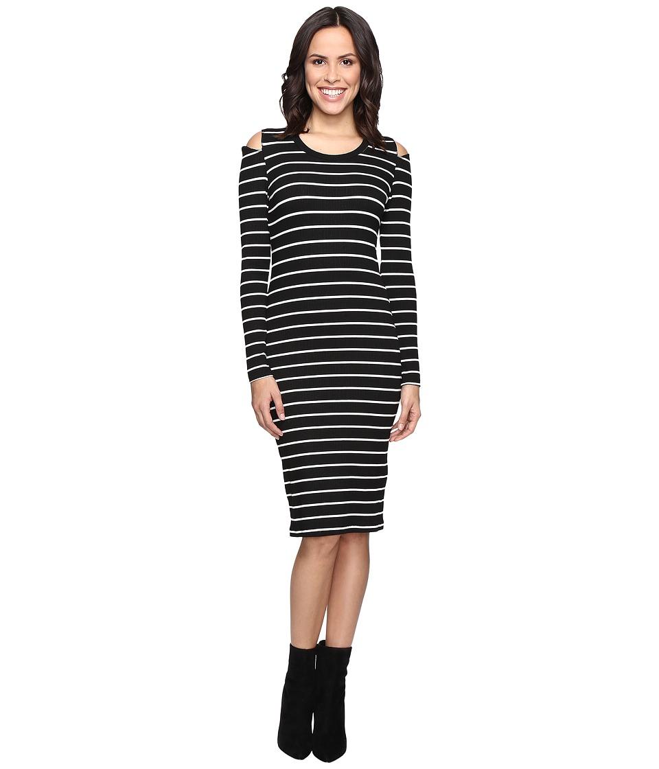 LNA - Tay Dress (Cream/Black Stripe) Women's Dress