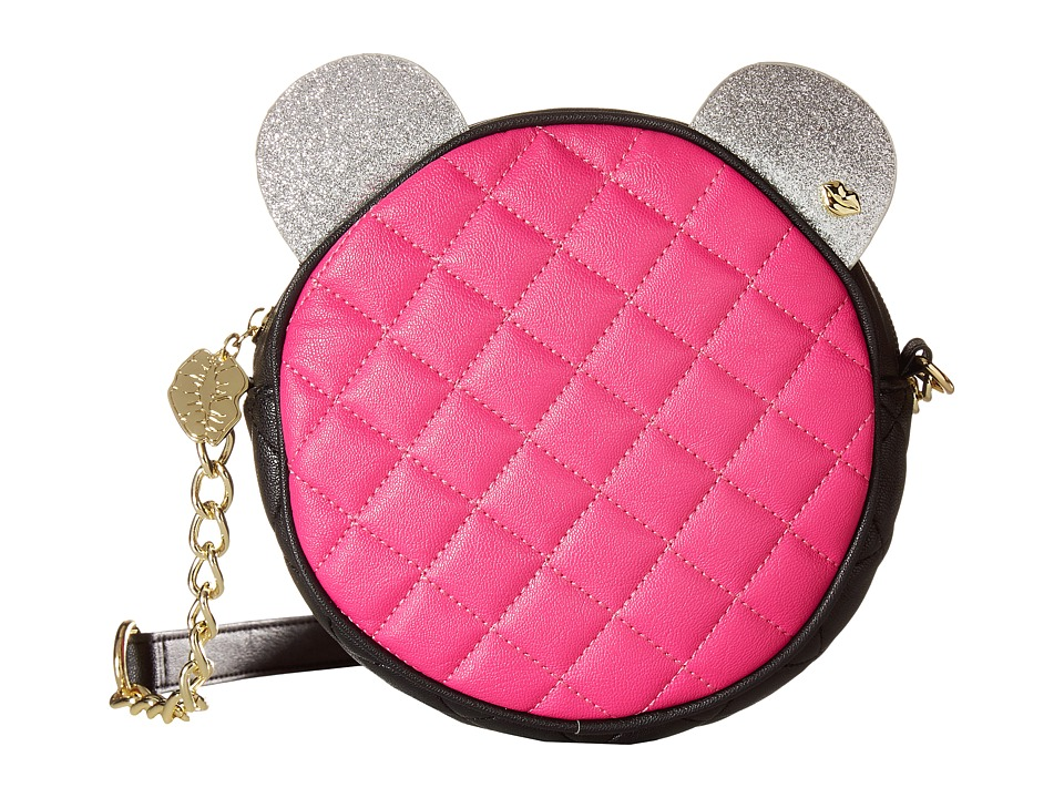Luv Betsey - Barry Kitch Canteen (Fuchsia) Cross Body Handbags