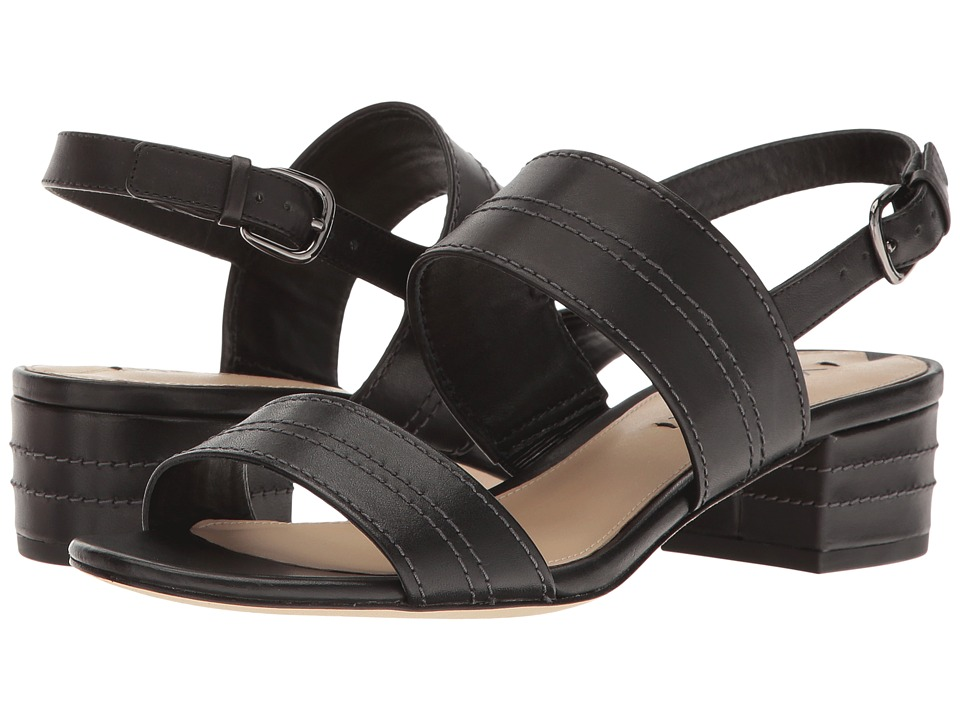 Via Spiga Gem2 (Black Leather) Women